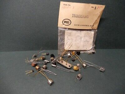 Vintage Unmarked Early Transistor Lot