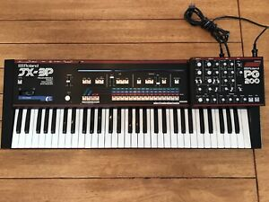 Roland JX-3P w/ PG200 and midi expansion