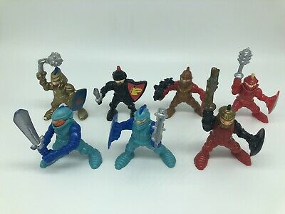Fisher Price Great Adventures Castle Knights Lot of 7 Action Figures 94-95