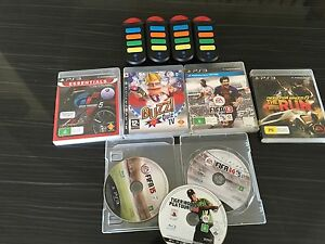PS3 and 7 games with buzz and wireless buzzers Nollamara Stirling Area Preview