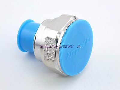Amphenol 7 16 Din Male To N Female New Adapter   Sold By W5swl