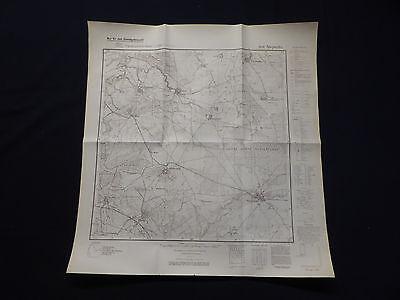 Landkarte Meßtischblatt 2638 Stepenitz, Porep, Vietlübbe, Redlin, 1938