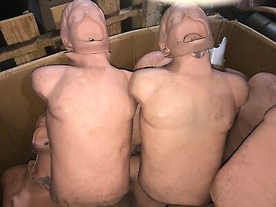 2 Simulaids Brad Manikin Torso Trainer Simulator Emt Cpr Airway Training Nursing
