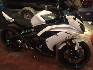 Mint 2015 Kawasaki Ninja 650 with ABS