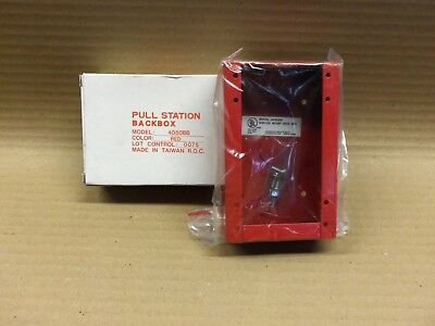 New Federal Signal 4050bb Surface Mount Back Box Fire Alarm