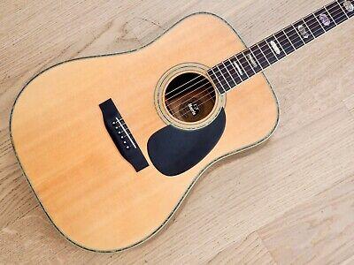 1970s T.F. Morris W-60 Vintage Dreadnaught Acoustic Guitar w/ Case, Near Mint