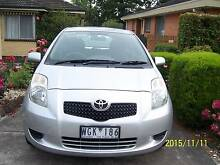 2008 Toyota Yaris Hatchback for sale    Price Negotiable Bundoora Banyule Area Preview