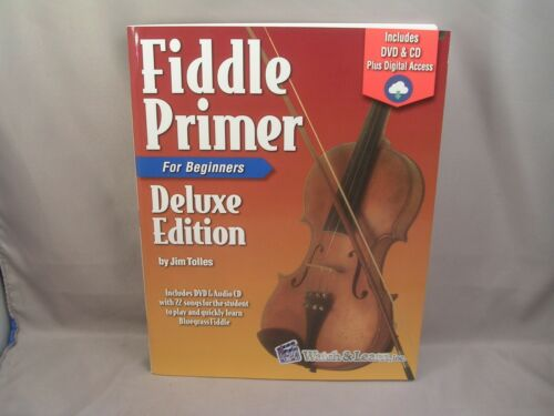 Fiddle Primer By Watch & Learn For Beginners + DVD & CD + Digital Access