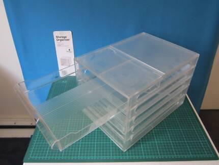 Storage Organiser, 4 drawer, Kuji