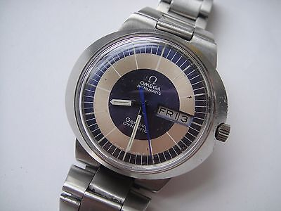 OMEGA DYNAMIC  DDAY DATE  AUTOMATIC WATCH VINTAGE MENS WATCH