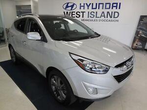 2015 Hyundai Tucson GLS 2.4L FWD CUIR/MAGS/TOIT PANO 80$/semaine