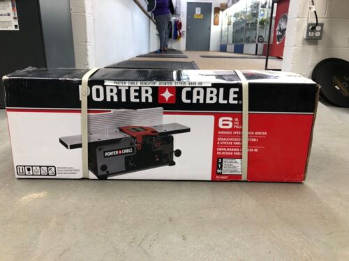 PORTER-CABLE Benchtop Jointer, Variable Speed, 6-Inch (PC160JT)