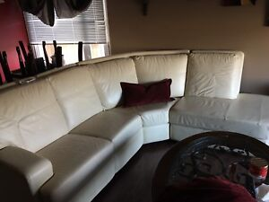 Full 100% Leather couch.