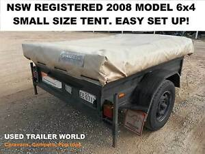 2008 NSW REGISTERED CAMPER TRAILER WITH AWNING. Heathcote Sutherland Area Preview