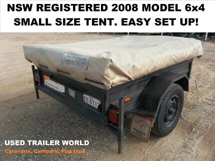 2008 NSW REGISTERED CAMPER TRAILER WITH AWNING.
