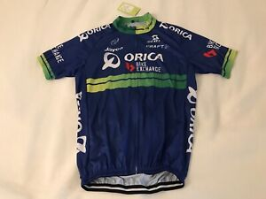 Orica Bike Exchange logo cycling jersey - new with tags