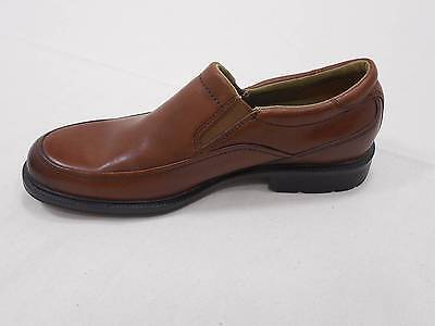 Rockport Leather Men's Shoes Adiprene Adidas Brown 8.5 M Oxford Slip On Loafers
