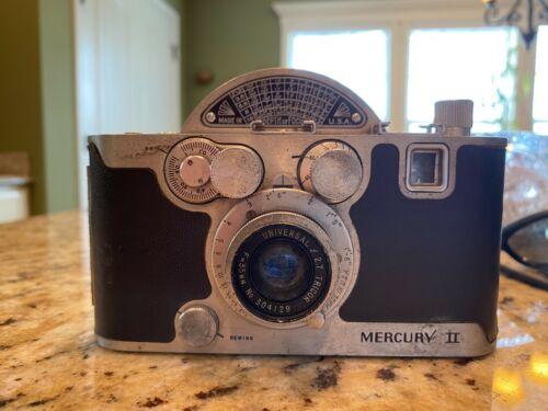 Vintage Mercury II Model CX 35mm Film Half Frame Camera