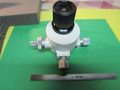 Microscope Part Leitz Wetzlar Germany With Eyepiece As Is Bin4a-03