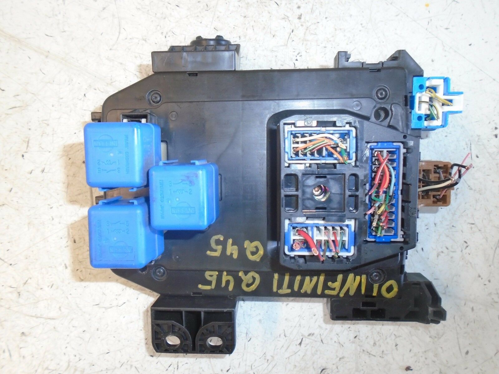 Used Infiniti Q45 Charging Starting And Related Parts For Sale Remote Starter 2001 Fuse Box Assembly