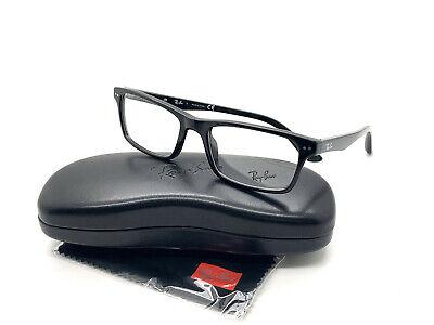 Ray-ban RB5288 2000 Brille Rahmen 52-18-140 Schwarz Poliert