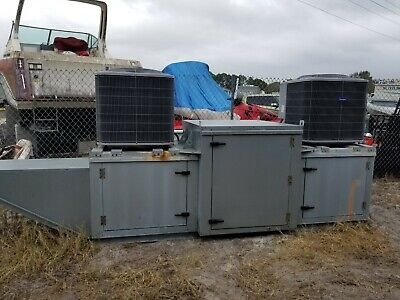 Captive-aire Systems Inc. Rooftop Filtered Make-up Air With 10 Ton Cooling