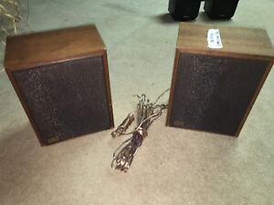 1981 Radio Shack Speakers