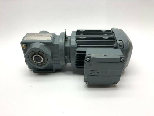 SEW-Eurodrive SA37 DRS71M4 Drive Motor w/ 1690/75 RPM gearbox, Flexlink Conveyor