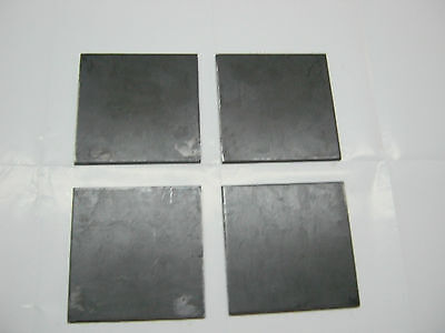 12 .500 Steel Plate Sheet 12 X 4 X 4 A36 4 Piece Set