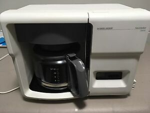 Black and Decker 12 cup coffee maker
