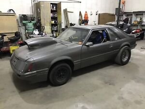 1984 Mustang GT rolling chassis