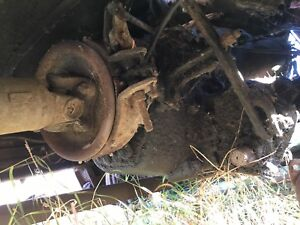 PTO and 4spd transmission Ford 1 ton