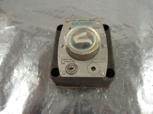 VICKERS FG0230050 FG-02-300-50 420627F95S HYDRAULIC FLOW CONTROL VALVE *NNB*