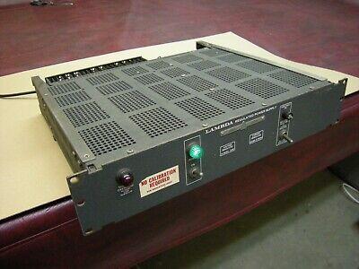 Vintage Lambda Le105 Transistorized Regulated Power Supply Adj 0 -18v Tested