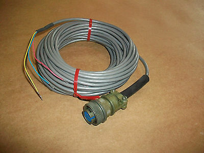 Amphenol Ms Military Connector W Cable  Ms316a-14s-6s New