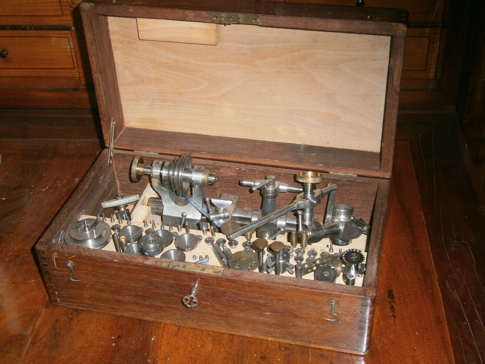 Uhrmacherdrehbank Lorch um 1920