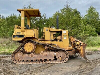 1986 Caterpillar D4h Dozer. Nice Good Undercarriage Low Cost Shipping