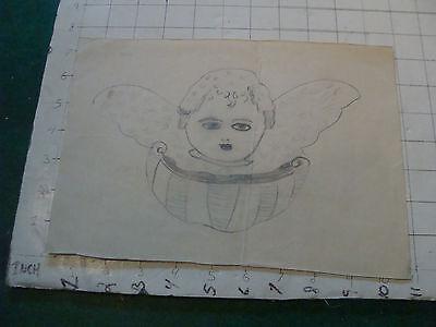 original MEIJER art: CHUREB circa 1930's or 40's