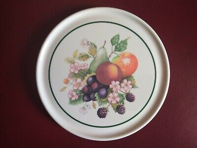JOHNSON BROTHERS FRESH FRUITS TEAPOT STAND EXCELLENT CONDITION.