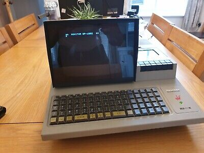 Sharp MZ-80K Vintage Home Computer, 80's home computer.