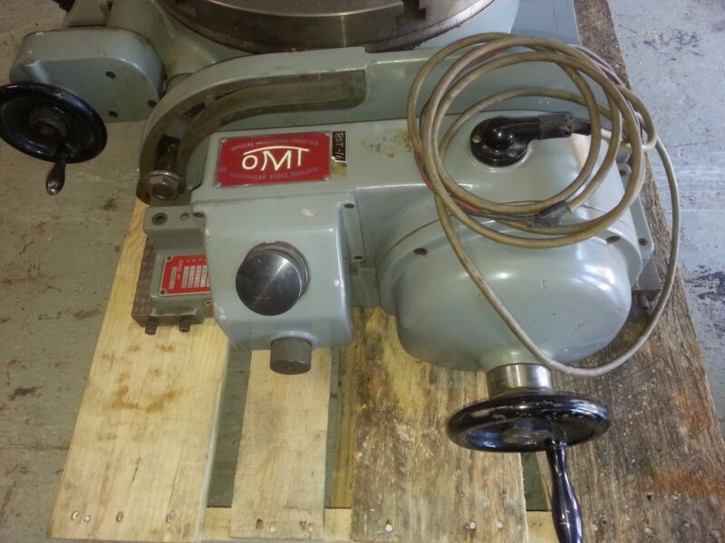 """600 pound tilting optical rotary table 16"""" precision+++  Priced to sell!"""