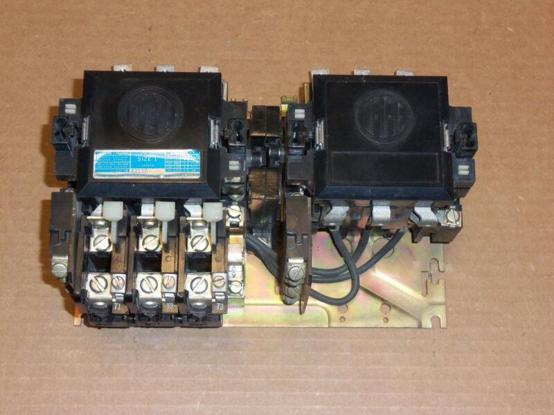 ITE Siemens A213C Size 1 Reversing Motor Starter 27 Amp 10Hp 600V 120V Coil