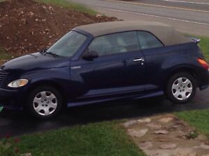 2005 pt cruiser convertible for sale