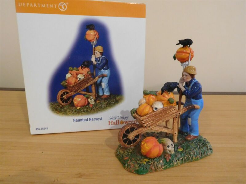 Dept 56 SV Halloween - Haunted Harvest - Free Shipping