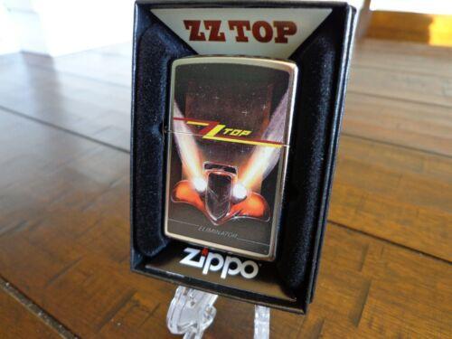 ZZ TOP ELIMINATOR HOT ROD ZIPPO LIGHTER MINT IN BOX