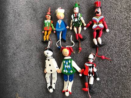 Wooden pull toys - Jumping jack toys