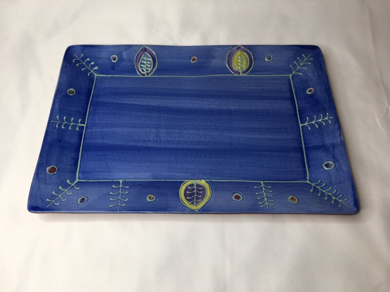 Block Basics Sonora Rectangular Platter 15""