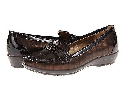 Joan & David Womens Filton Bronze Casual Slip-On Loafers Dress Shoes David Womens Slip