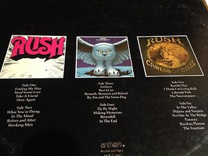 Rush Archives record first 3 albums Windsor Region Ontario image 3