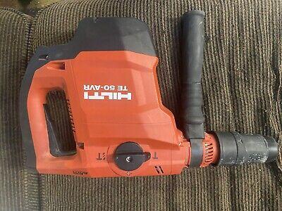 Hilti Te 50-avr 120 Volt Sds Max Corded Rotary Hammer Drill Kit - New Power Cord